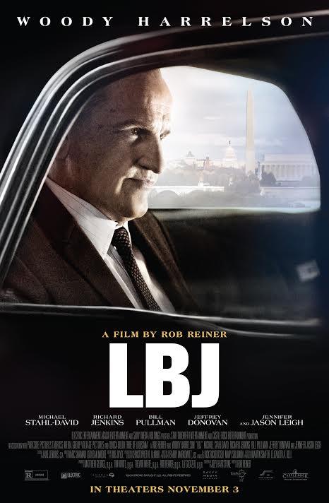 affiche du film LBJ