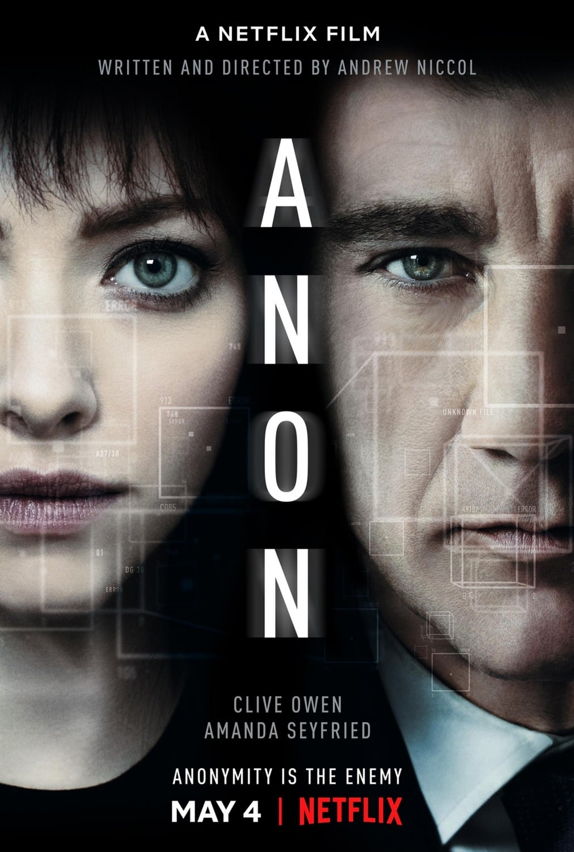 affiche du film Anon