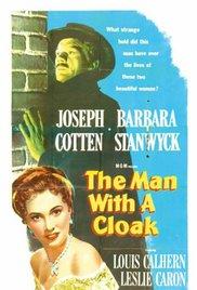 affiche du film L'homme au manteau noir