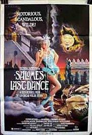 affiche du film Salome's Last Dance