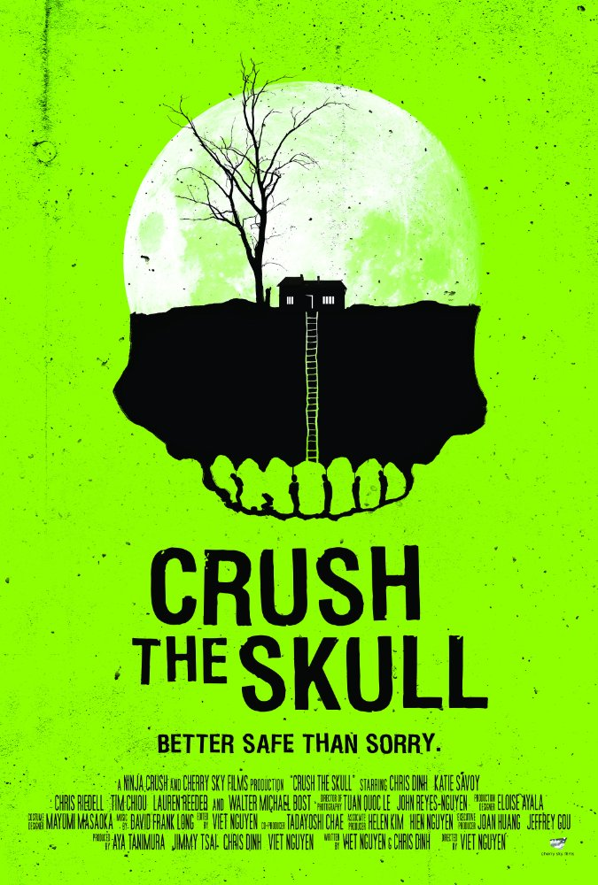 affiche du film Crush the skull