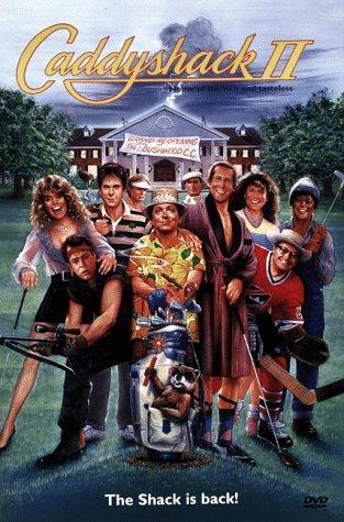 affiche du film Caddyshack II