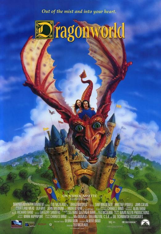 affiche du film Le Château du petit dragon