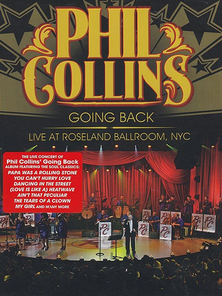 affiche du film Phil Collins: Going Back Live at Roseland Ballroom, NYC
