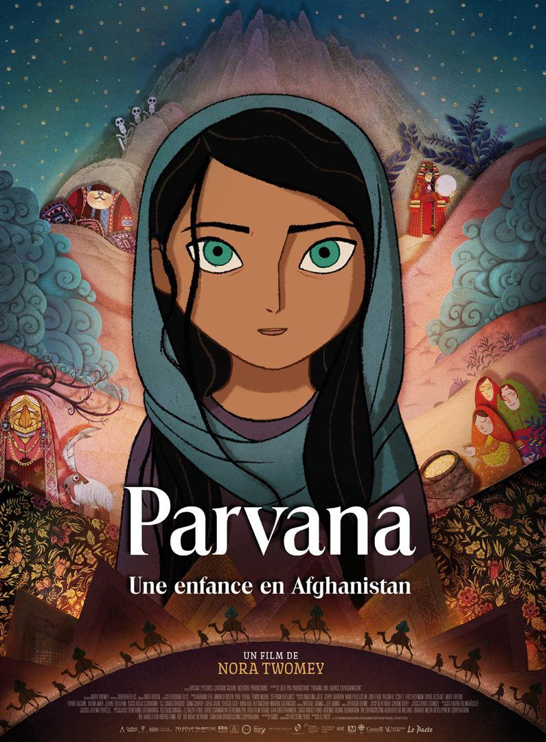 affiche du film Parvana, une enfance en Afghanistan