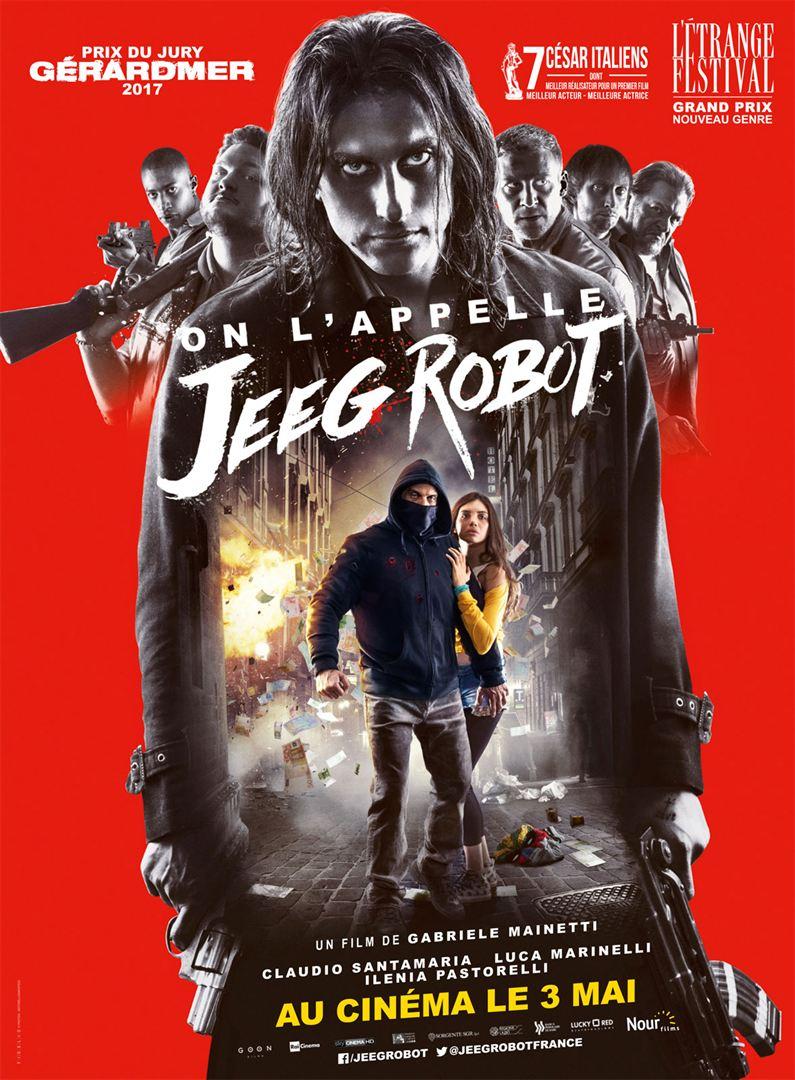 affiche du film On l'appelle Jeeg Robot