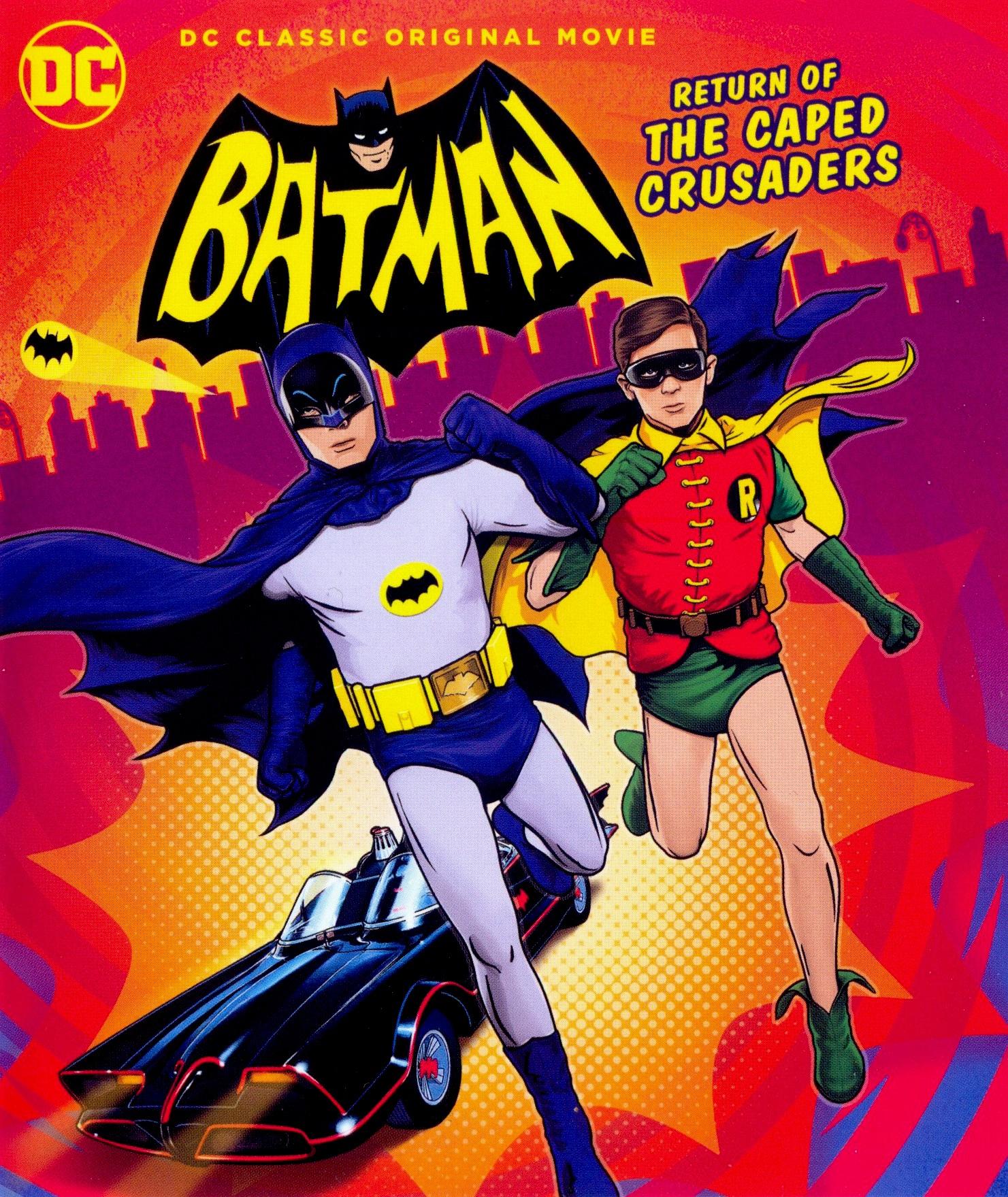 affiche du film Batman : Le retour des justiciers masqués