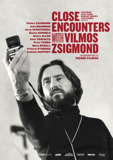 affiche du film Close Encounters with Vilmos Zsigmond