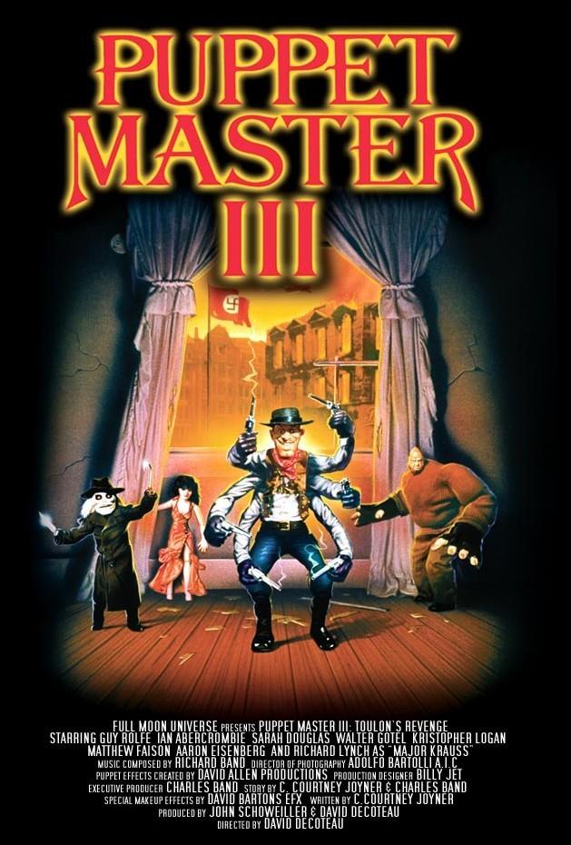 affiche du film Puppet Master III : La revanche de Toulon
