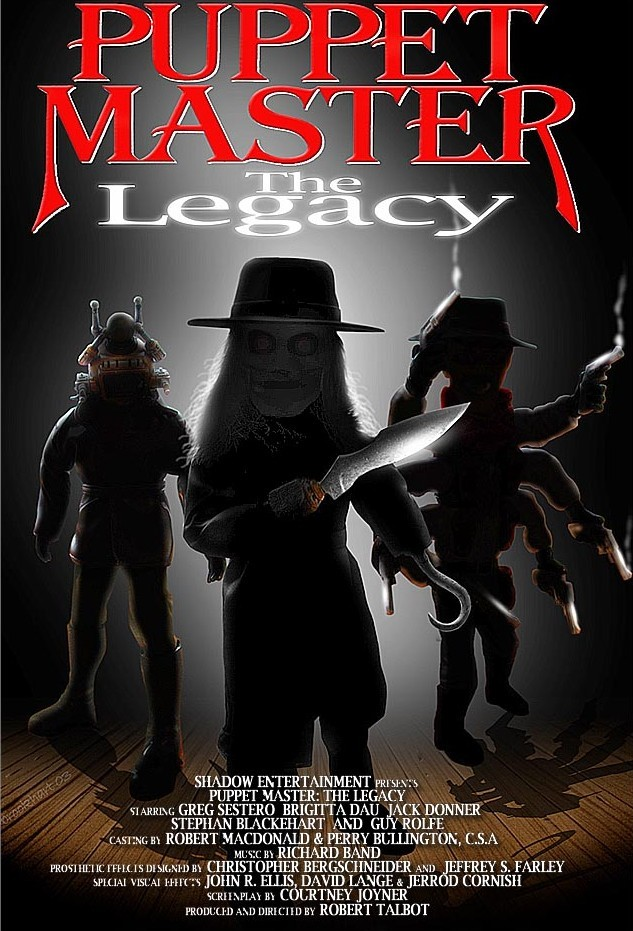 affiche du film Puppet Master VIII: The Legacy