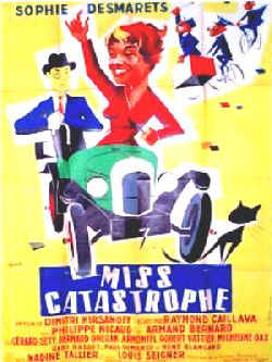 affiche du film Miss Catastrophe