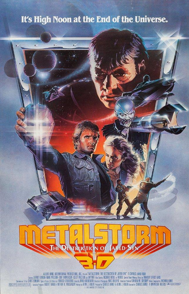 affiche du film Métalstorm : La Tempête d'acier