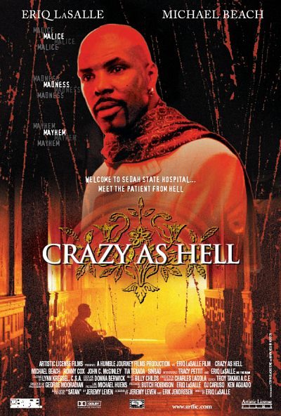 affiche du film Crazy as Hell