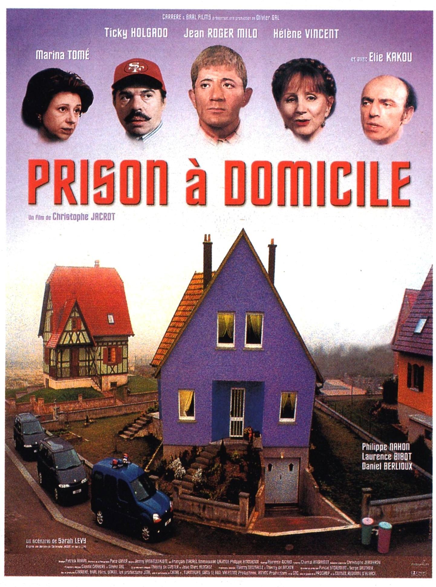 affiche du film Prison à domicile