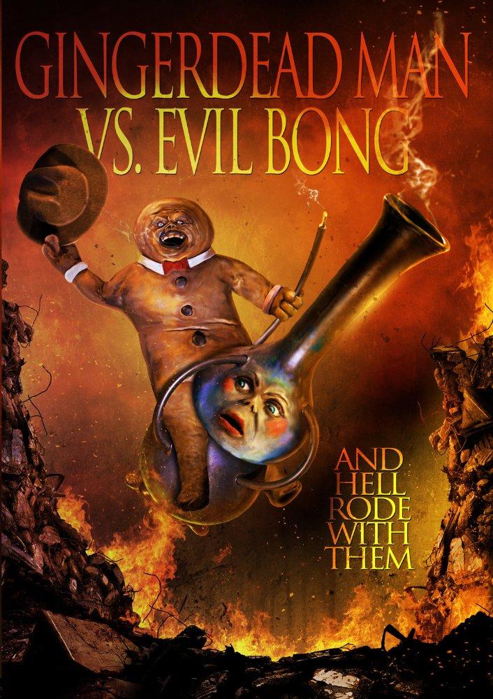 affiche du film Gingerdead Man Vs. Evil Bong