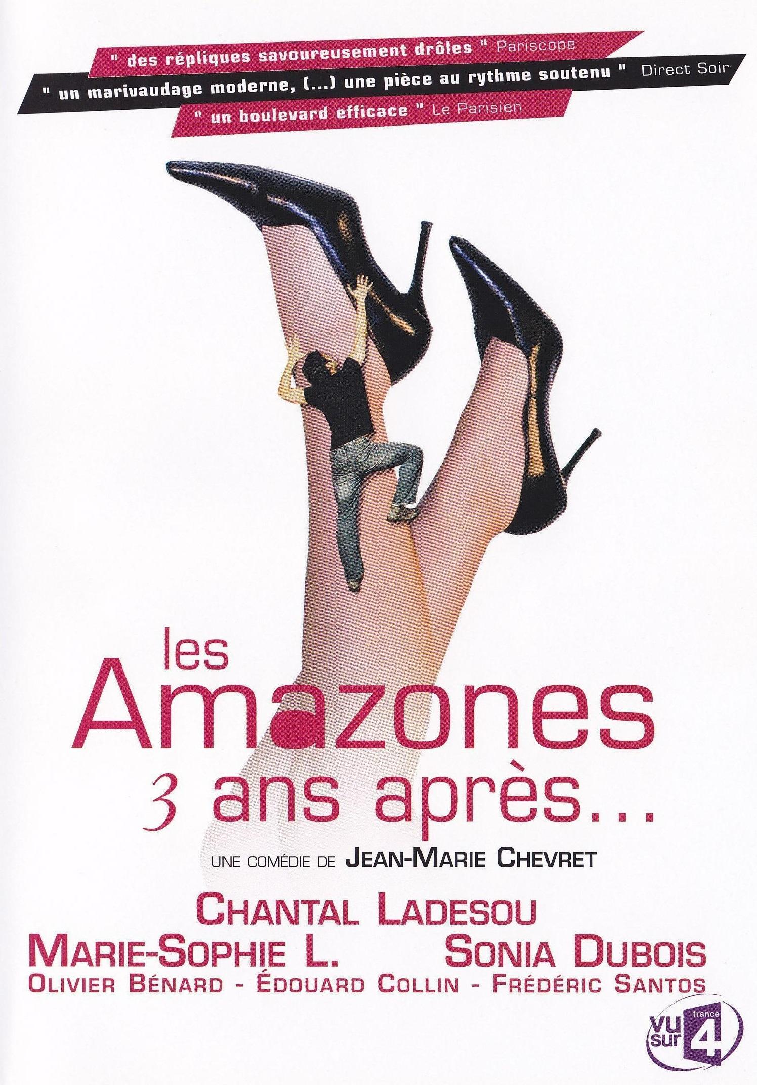 affiche du film Les Amazones, 3 ans après