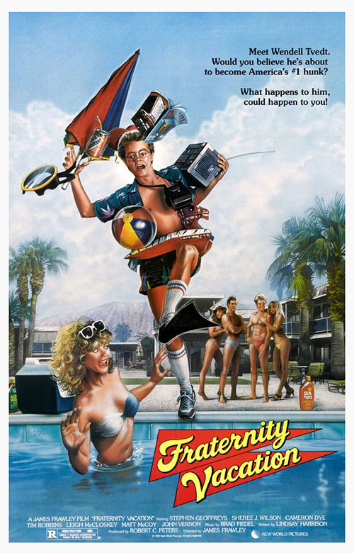 affiche du film Fraternity Vacation