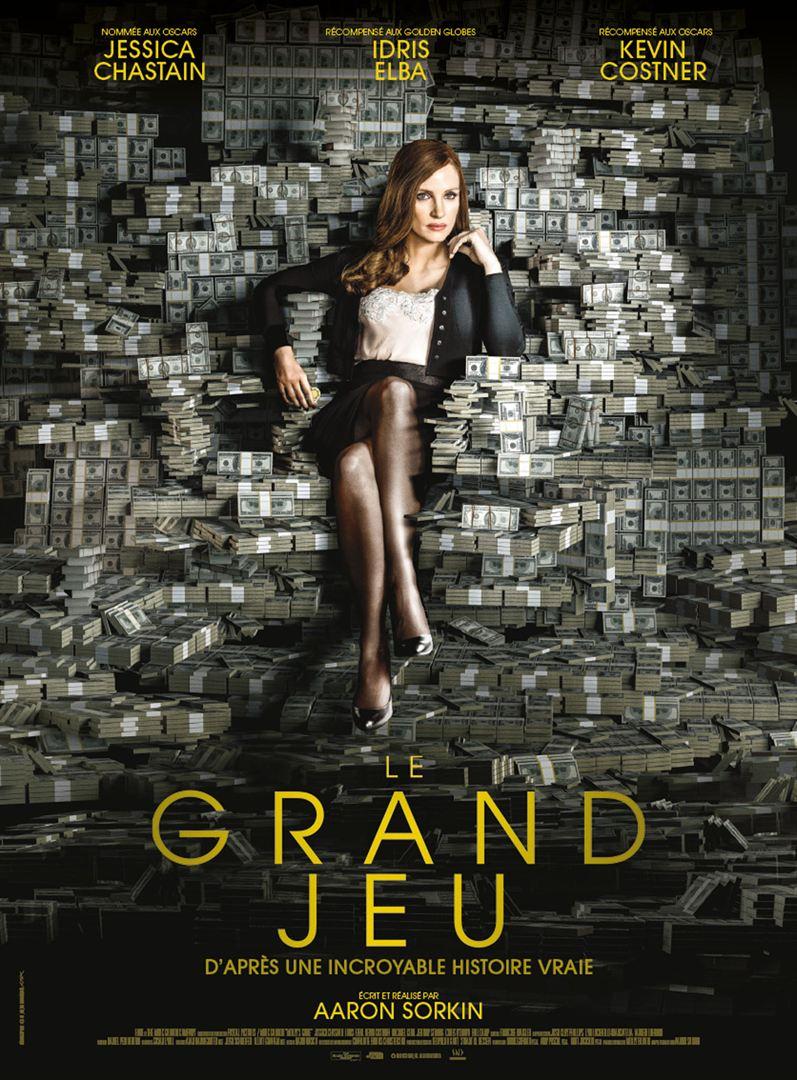 affiche du film Le Grand Jeu (2018)
