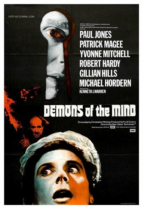 affiche du film Les démons de l'esprit
