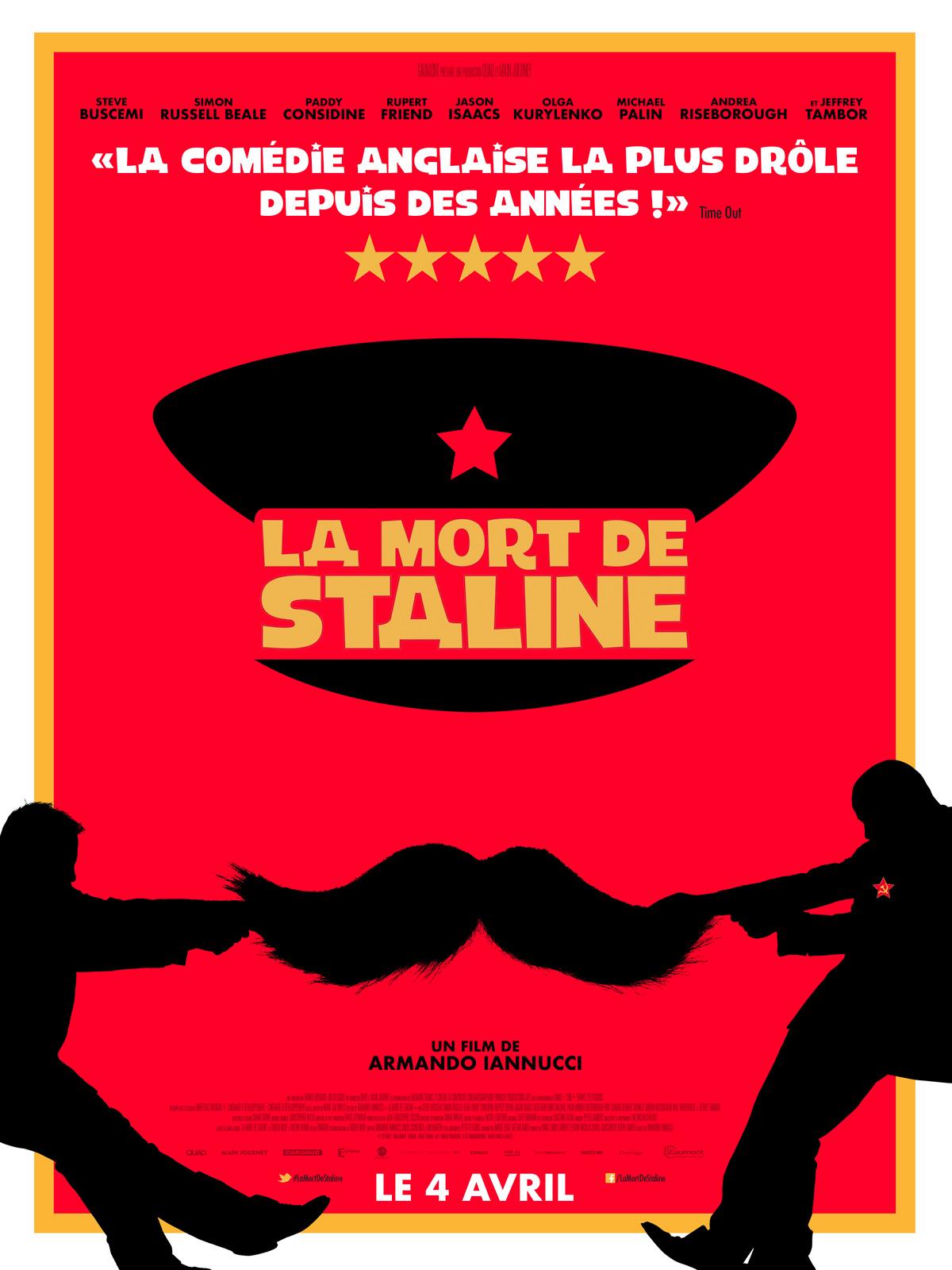 affiche du film La mort de Staline