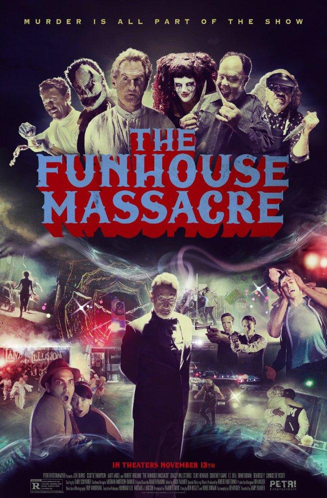 affiche du film Massacre au Palais du Rire