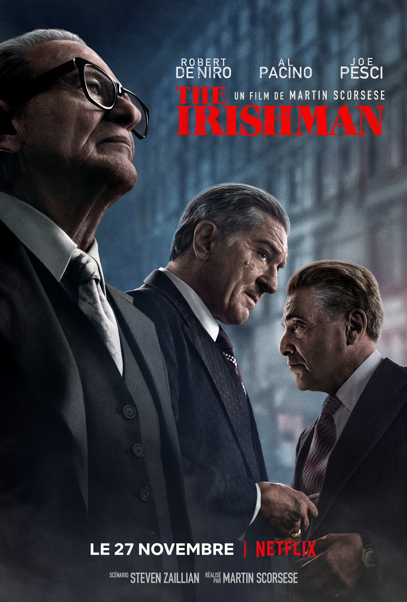 affiche du film The Irishman
