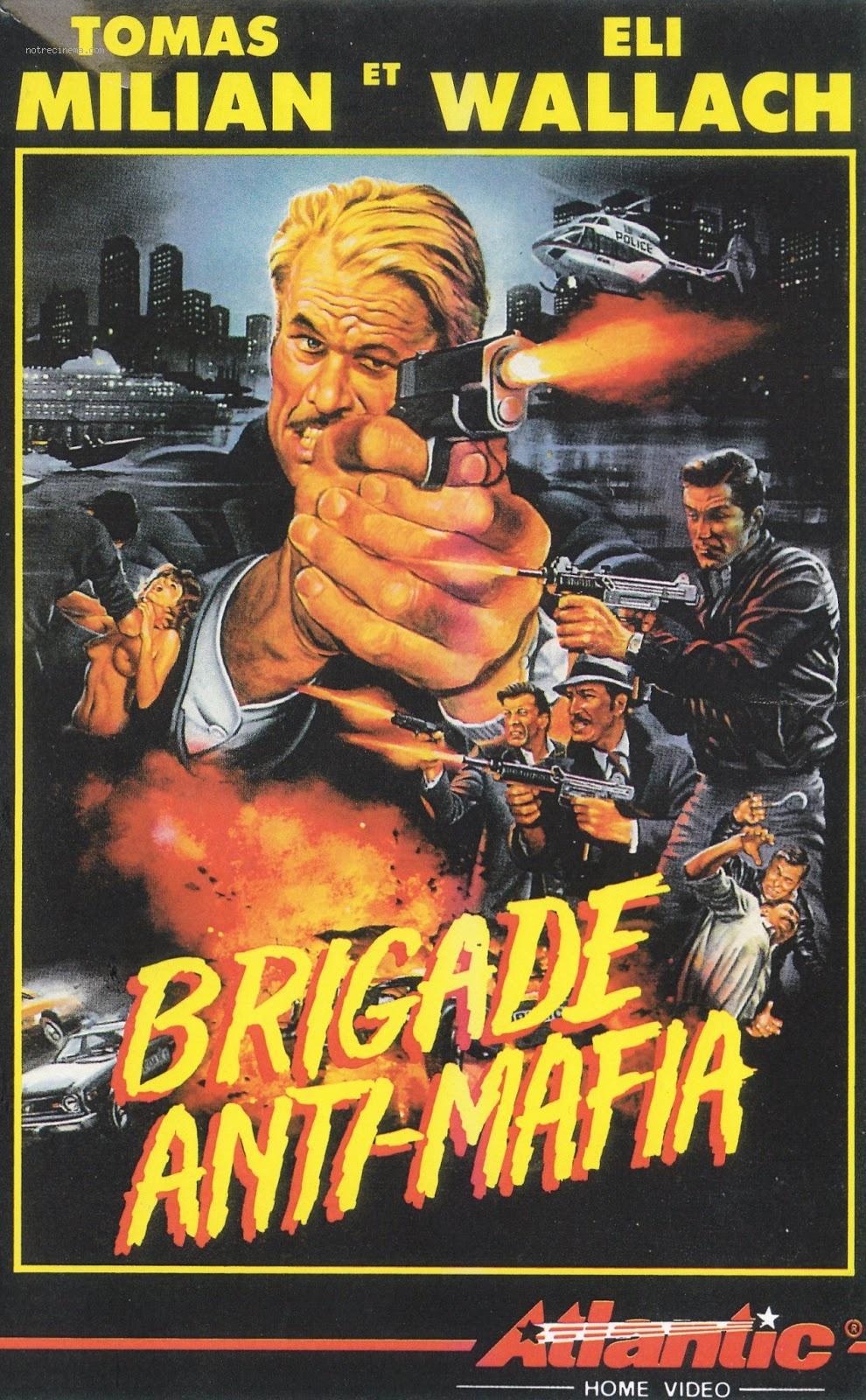 affiche du film Brigade Anti-Mafia