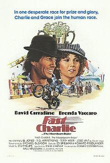 affiche du film Fast Charlie... the Moonbeam Rider