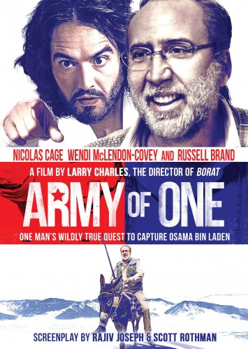affiche du film Army of One