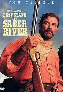 affiche du film Last Stand at Saber River (TV)