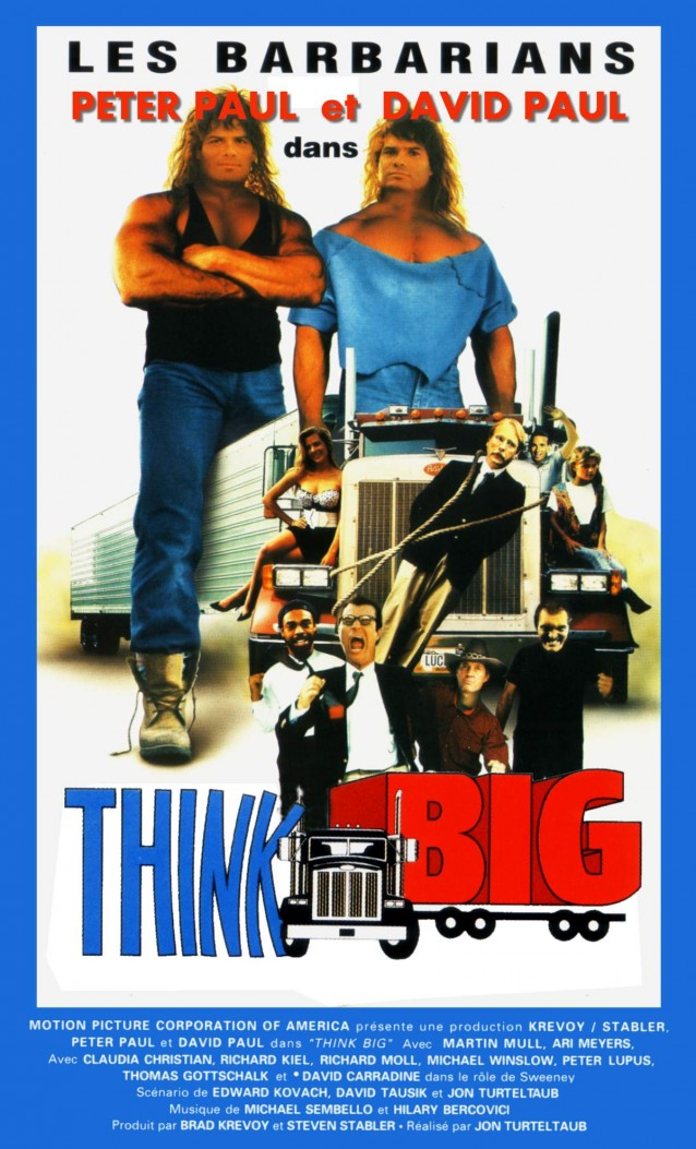 affiche du film Think Big