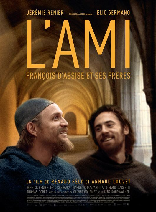 affiche du film L'Ami, François d'Assise et ses frères