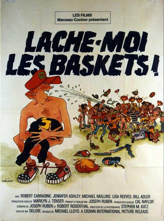 affiche du film Lache-moi les baskets