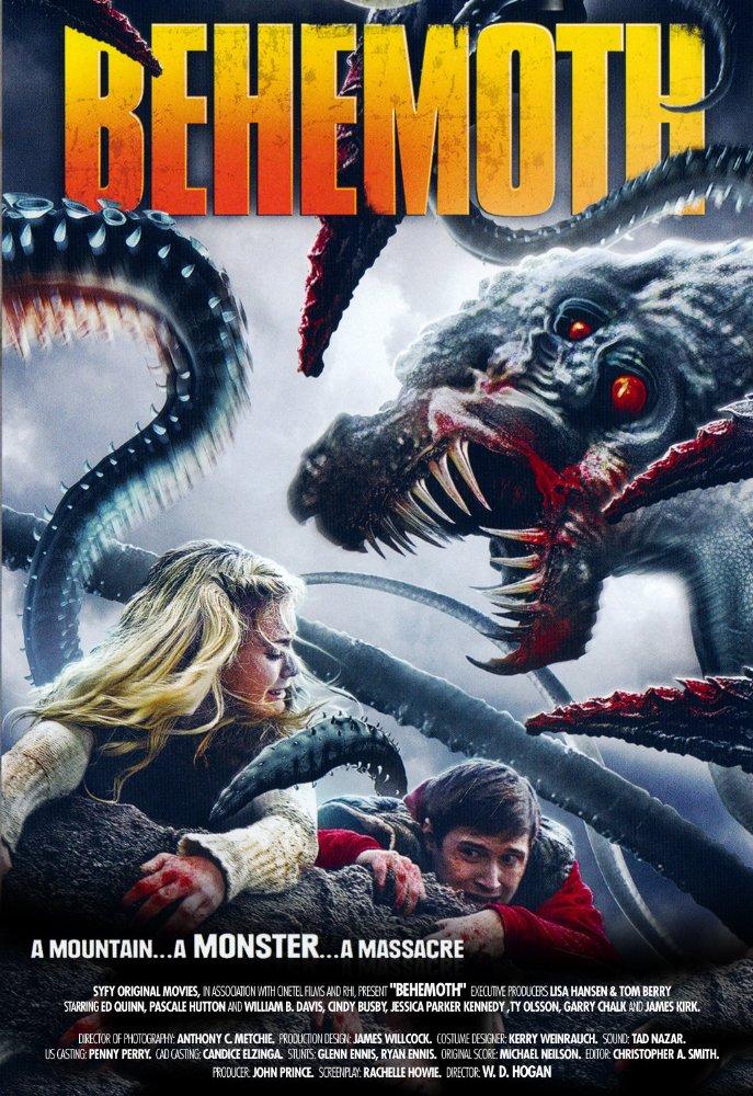 affiche du film Béhémoth, la créature du volcan (TV)