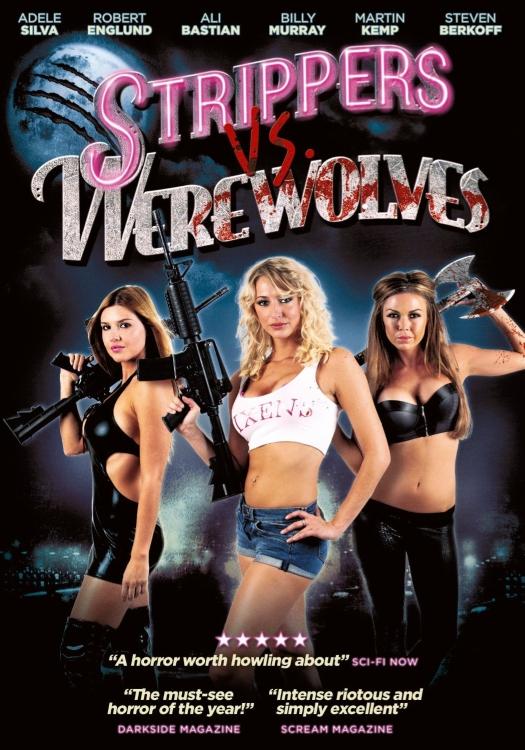 affiche du film Strippers Vs Werewolves