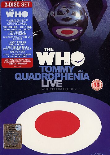 affiche du film The Who: Tommy and Quadrophenia Live