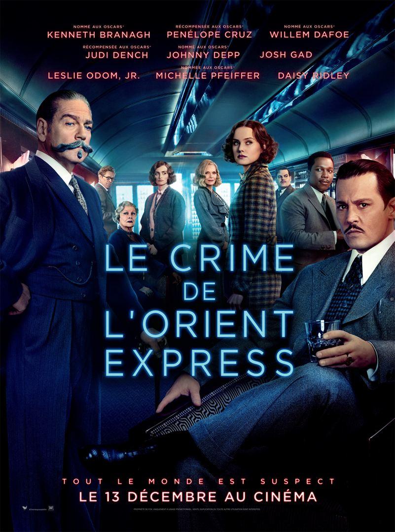 affiche du film Le Crime de l'Orient-Express (2017)