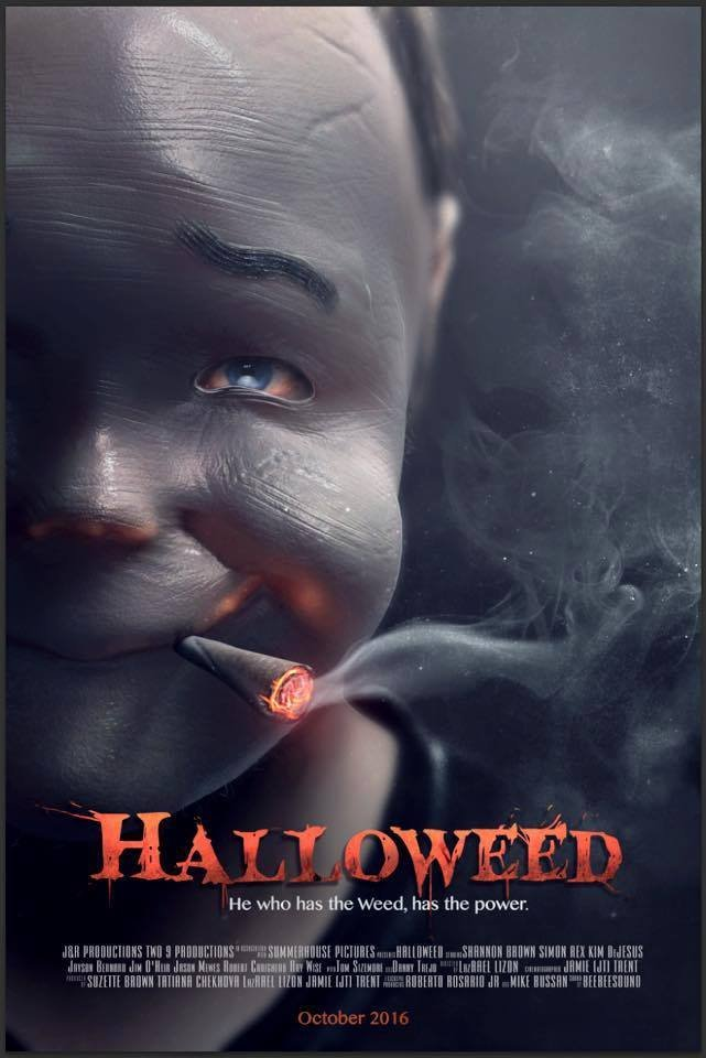 affiche du film Halloweed