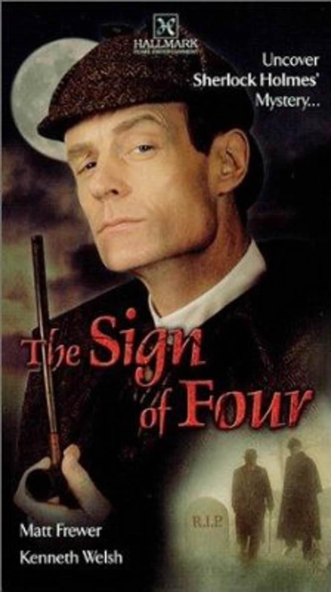 affiche du film Le Signe des quatre (TV)