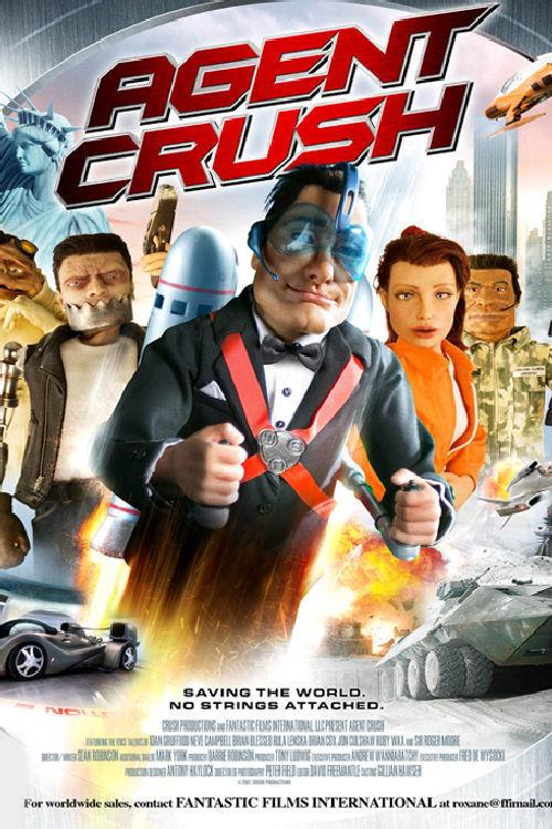 affiche du film Agent Crush