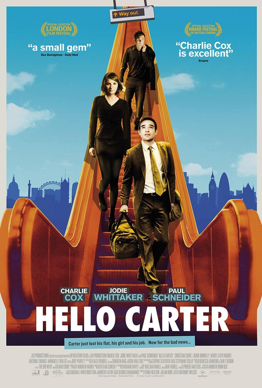 affiche du film Hello Carter