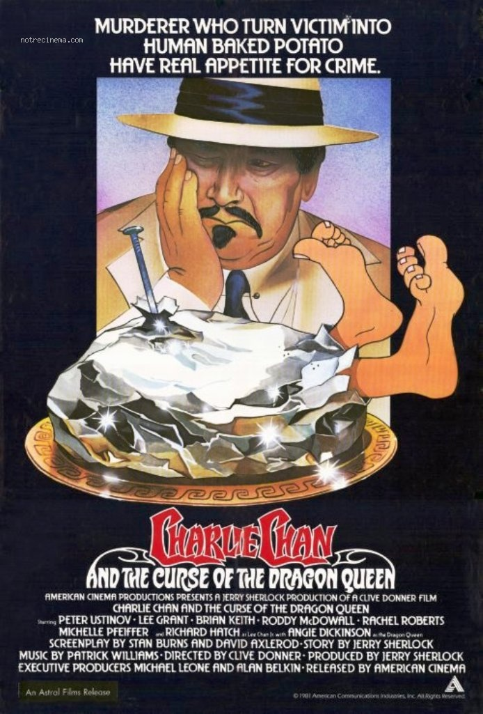 affiche du film Charlie Chan and the Curse of the Dragon Queen