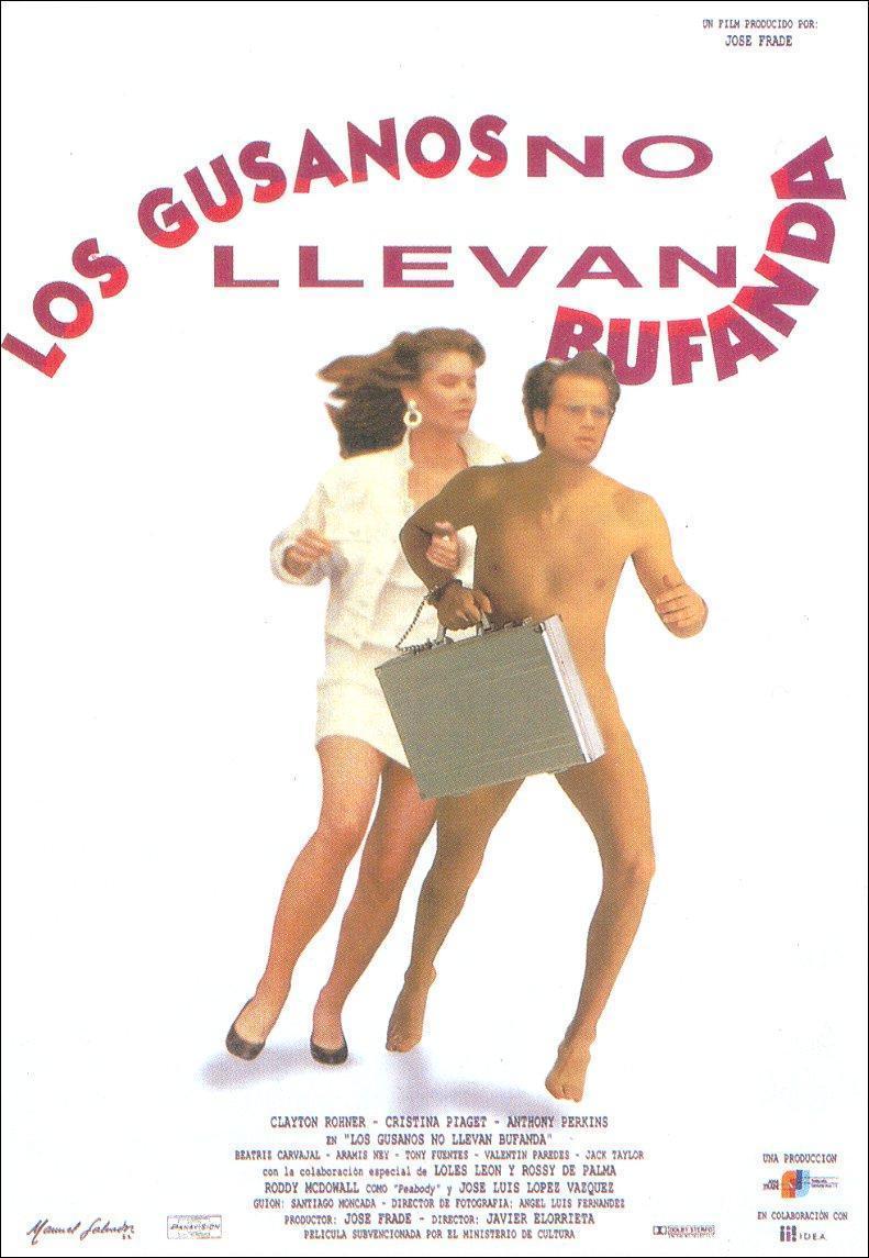 affiche du film Los gusanos no llevan bufanda
