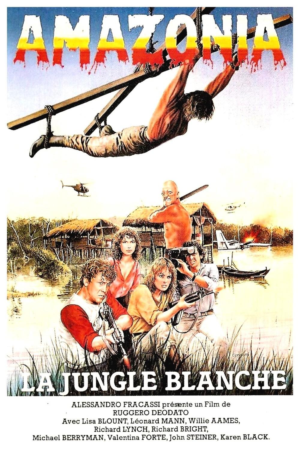 affiche du film Amazonia : La Jungle Blanche