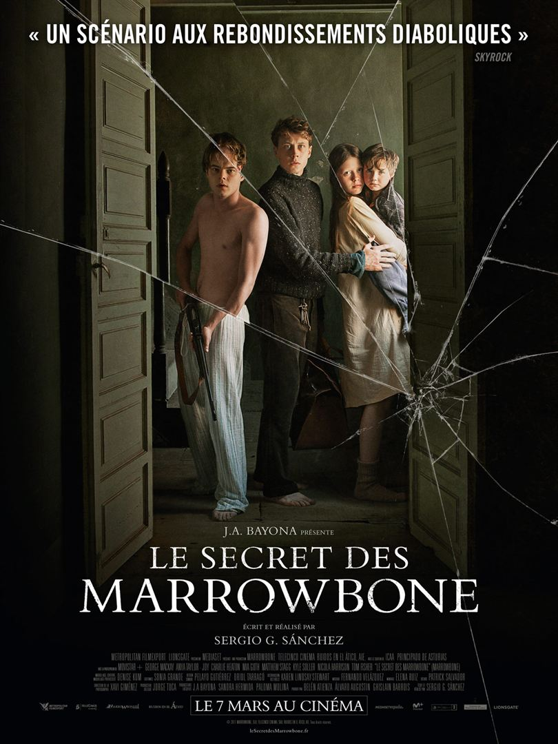 affiche du film Le Secret de Marrowbone