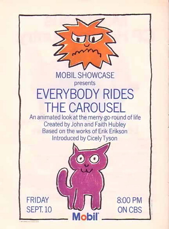affiche du film Everybody Rides the Carousel