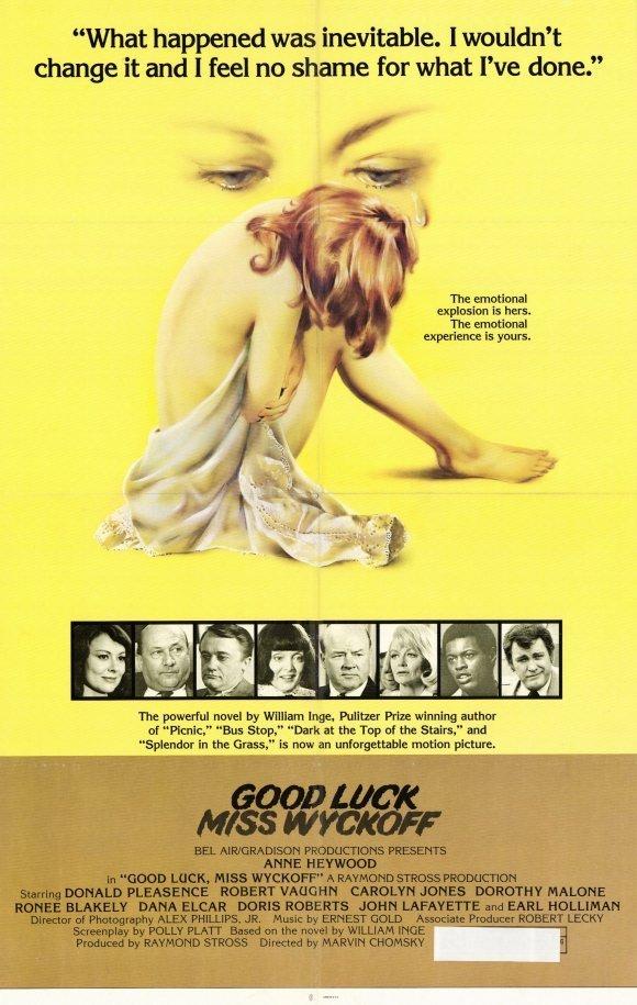 affiche du film Good Luck, Miss Wyckoff