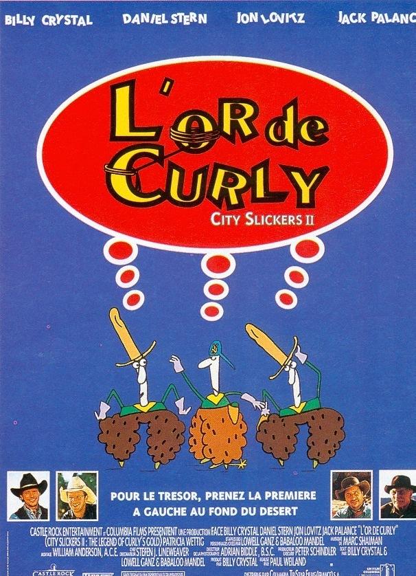 affiche du film L'Or De Curly