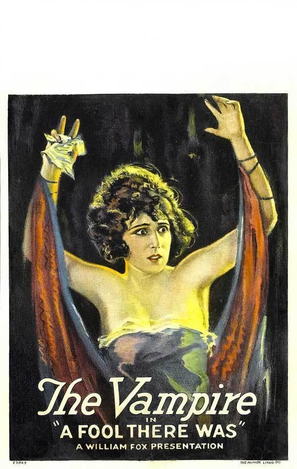 affiche du film La Vampire