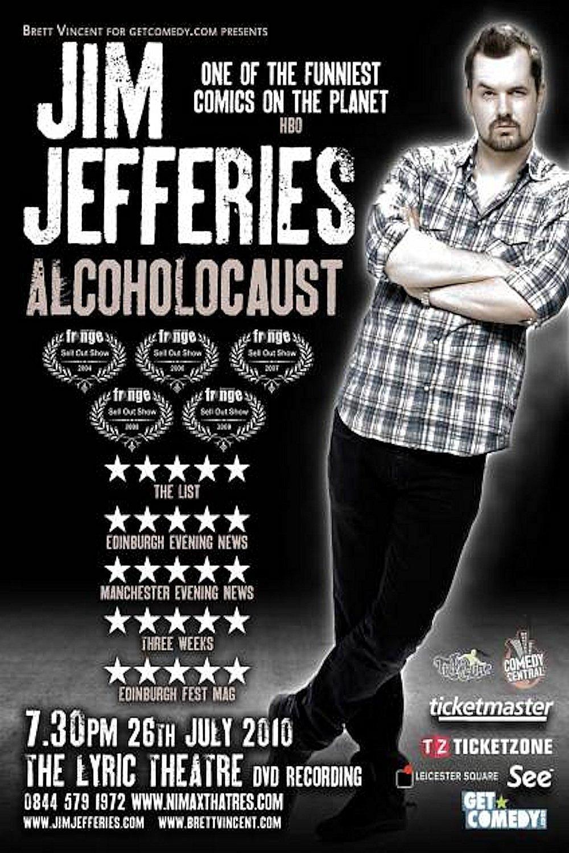 affiche du film Jim Jefferies: Alcoholocaust
